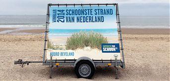de schoonste Noordzeestrand van Nederland